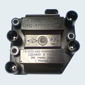 Модуль зажигания (ВАЗ 2108, 2109, 2110, 2114, 2115 и их модификации с инжекторным двигателем)