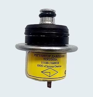Регулятор давления топлива 1118-1160010 (ВАЗ 1118 Калина, ВАЗ 2110, ВАЗ 2170 Priora и их модификации с двигателем объемом 1,6 л)